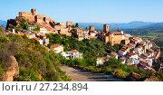 Купить «Castell de Escornalbou lost in mountains of Riudecanyes», фото № 27234894, снято 16 мая 2016 г. (c) Яков Филимонов / Фотобанк Лори