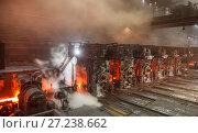 Hot red workshop. Стоковое фото, фотограф Дмитрий Рухмалев / Фотобанк Лори