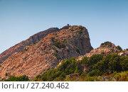 Купить «Mountain landscape of Corsica island», фото № 27240462, снято 5 июля 2015 г. (c) EugeneSergeev / Фотобанк Лори