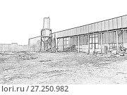 Купить «Shop woodworking plant», иллюстрация № 27250982 (c) Евгений Ткачёв / Фотобанк Лори
