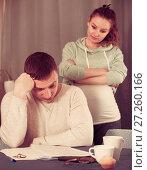Купить «Couple struggling to pay bills», фото № 27260166, снято 18 марта 2017 г. (c) Яков Филимонов / Фотобанк Лори