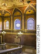 Austria, Vienna, Museum for Applied Arts, MAK, buildling interior. (2016 год). Редакционное фото, фотограф Walter Bibikow / age Fotostock / Фотобанк Лори