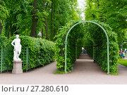Купить «Берсо Летнего сада. Санкт-Петербург», эксклюзивное фото № 27280610, снято 24 июня 2017 г. (c) Александр Щепин / Фотобанк Лори