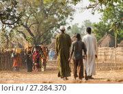 Купить «Ouled Rachid tibeswomen carrying buckets of water on their heads, village of Bon. Zakouma National Park, Chad, 2010.», фото № 27284370, снято 14 ноября 2019 г. (c) Nature Picture Library / Фотобанк Лори
