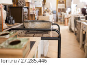 Купить «Furniture selling in modern store», фото № 27285446, снято 15 ноября 2017 г. (c) Яков Филимонов / Фотобанк Лори