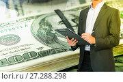 Купить «Successful profitable business», фото № 27288298, снято 19 июля 2012 г. (c) Яков Филимонов / Фотобанк Лори