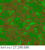 Купить «Seamless camouflage of pixel pattern», иллюстрация № 27298686 (c) Сергей Лаврентьев / Фотобанк Лори
