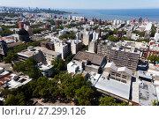 View of Montevideo, capital of Uruguay (2017 год). Стоковое фото, фотограф Яков Филимонов / Фотобанк Лори