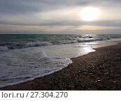 Закат на море (2017 год). Стоковое фото, фотограф Скалдина Мария / Фотобанк Лори