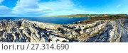 Atlantic Ocean coastline (Cantabria, Spain). Стоковое фото, фотограф Юрий Брыкайло / Фотобанк Лори