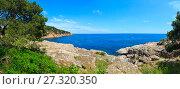 Купить «Tamariu bay, Costa Brava, Spain.», фото № 27320350, снято 19 июня 2019 г. (c) Юрий Брыкайло / Фотобанк Лори