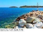 Купить «Sithonia coast, Greece.», фото № 27324178, снято 25 июля 2016 г. (c) Юрий Брыкайло / Фотобанк Лори