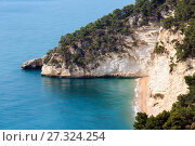 Baia Delle Zagare, Italy (2017 год). Стоковое фото, фотограф Юрий Брыкайло / Фотобанк Лори