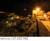 Купить «Night Stilo village, Calabria, Italy.», фото № 27333762, снято 10 июня 2017 г. (c) Юрий Брыкайло / Фотобанк Лори