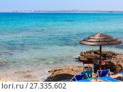 Купить «Beach Punta della Suina, Salento, Italy», фото № 27335602, снято 8 июня 2017 г. (c) Юрий Брыкайло / Фотобанк Лори