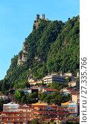 Купить «Republic of San Marino view», фото № 27335766, снято 4 июня 2017 г. (c) Юрий Брыкайло / Фотобанк Лори