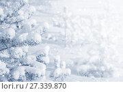 Купить «Зимний фон», фото № 27339870, снято 30 декабря 2017 г. (c) Икан Леонид / Фотобанк Лори