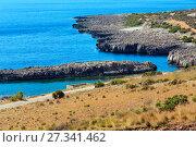 Купить «Tyrrhenian sea coast, Macari, Sicily, Italy», фото № 27341462, снято 16 июня 2017 г. (c) Юрий Брыкайло / Фотобанк Лори