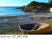 Купить «Beach Torre Sant'Andrea, Salento, Italy», фото № 27341930, снято 9 июня 2017 г. (c) Юрий Брыкайло / Фотобанк Лори