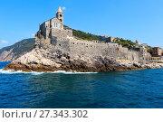 Купить «Portovenere, Liguria, Italy», фото № 27343302, снято 26 июня 2017 г. (c) Юрий Брыкайло / Фотобанк Лори