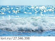 Купить «Морской пейзаж», фото № 27346398, снято 1 августа 2015 г. (c) Икан Леонид / Фотобанк Лори