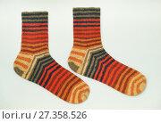 Полосатые носки. Стоковое фото, фотограф Dmitry29 / Фотобанк Лори