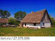 Купить «Kujavian-Dobrzyn Ethnographic Park. Klobka, Kuyavian-Pomeranian Voivodeship, Poland.», фото № 27375090, снято 21 июля 2019 г. (c) age Fotostock / Фотобанк Лори