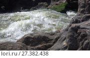 Купить «Pulo do Lobo or wolf's leap waterfall and cascade on river Guadiana, Alentejo, Portugal», видеоролик № 27382438, снято 23 ноября 2017 г. (c) Serg Zastavkin / Фотобанк Лори