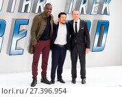 Купить «The UK Premiere of 'Star Trek Beyond' held at the Empire Leicester Square - Arrivals Featuring: Idris Elba, Justin Lin, Simon Pegg Where: London, United...», фото № 27396954, снято 12 июля 2016 г. (c) age Fotostock / Фотобанк Лори