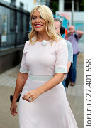 Купить «Holly Willoughby and Philip Schofield film 'This Morning' outside the ITV studios Featuring: Holly Willoughby, Philip Schofield Where: London, United Kingdom When: 14 Jul 2016 Credit: Rocky/WENN.com», фото № 27401558, снято 14 июля 2016 г. (c) age Fotostock / Фотобанк Лори