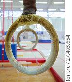 Гимнастические кольца. Стоковое фото, фотограф Vasily Smirnov / Фотобанк Лори