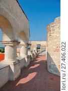 Купить «Janowiec Castle built in between 1508–1526. Janowiec, Lublin Voivodeship, Poland.», фото № 27406022, снято 19 января 2018 г. (c) age Fotostock / Фотобанк Лори