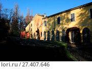 Купить «House Sant Agata, Giuseppina Strepponi, Giuseppe Verdi, 2012, Italy», фото № 27407646, снято 6 декабря 2012 г. (c) age Fotostock / Фотобанк Лори