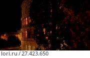Купить «Colosseum in centre of city of Rome, Italy», видеоролик № 27423650, снято 10 августа 2017 г. (c) BestPhotoStudio / Фотобанк Лори