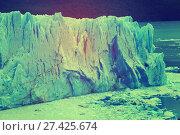 Купить «Glacier Perito Moreno, southeast of Argentina», фото № 27425674, снято 2 февраля 2017 г. (c) Яков Филимонов / Фотобанк Лори