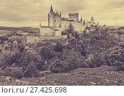 Купить «Alcazar of Segovia in november», фото № 27425698, снято 16 ноября 2014 г. (c) Яков Филимонов / Фотобанк Лори