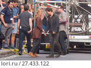 Купить «Tom Cruise and Annabelle Wallis are spotted filming dramitic scenes for The Mummy Both can be seen dancing in celebration of the last day of filming. Featuring...», фото № 27433122, снято 17 июля 2016 г. (c) age Fotostock / Фотобанк Лори