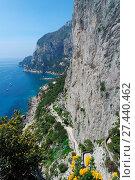 Купить «Cliffs of Capri», фото № 27440462, снято 24 января 2018 г. (c) easy Fotostock / Фотобанк Лори