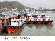 Купить «Fishing boats», фото № 27449650, снято 24 января 2018 г. (c) age Fotostock / Фотобанк Лори