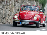 Купить «South Tyrol Rallye 2016_VW Käfer Cabrio 1300 LS.», фото № 27456226, снято 20 июля 2019 г. (c) age Fotostock / Фотобанк Лори