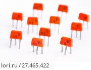 Купить «Советский транзистор КТ315Б», эксклюзивное фото № 27465422, снято 14 января 2018 г. (c) Dmitry29 / Фотобанк Лори