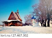 Купить «Churches at Suzdal in winter. Russia», фото № 27467302, снято 8 марта 2012 г. (c) Яков Филимонов / Фотобанк Лори