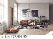 modern living room i. Стоковое фото, фотограф Виктор Застольский / Фотобанк Лори