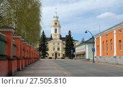 Купить «Старинная ратуша города Хамина. Финляндия», фото № 27505810, снято 12 мая 2013 г. (c) Сапрыгин Сергей / Фотобанк Лори