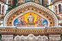Купить «Detail of Church of Savior on Spilled Blood, St. Petersburg, Russia», фото № 27549042, снято 30 декабря 2009 г. (c) Алексей Ширманов / Фотобанк Лори