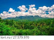 Купить «Sumbava tropical landscape», фото № 27579970, снято 23 февраля 2019 г. (c) easy Fotostock / Фотобанк Лори