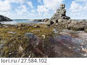 Купить «Rock Formations on the coast of Newfoundland and Labrador», фото № 27584102, снято 23 апреля 2018 г. (c) PantherMedia / Фотобанк Лори