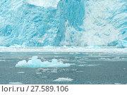 Купить «Aialik Glacier Ice Flow Pacific Ocean Alaska Coast», фото № 27589106, снято 22 марта 2019 г. (c) PantherMedia / Фотобанк Лори
