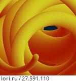 Купить «Abstract fluid line. Gradient flow design. Vector», иллюстрация № 27591110 (c) Павлов Максим / Фотобанк Лори