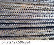 Купить «Metal fittings for reinforced concrete», фото № 27596894, снято 22 марта 2019 г. (c) PantherMedia / Фотобанк Лори